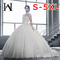 Wedding gown 2019 new lace holiday travel photo light wedding lawn outdoor beach beach wedding dress US:2(S) pure white