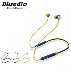 2019 Bluedio TN Bluetooth headphones active noise cancelling in-ear earphone with microphone black