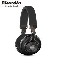 Original Bluedio T3 wireless stereo headphones portable bluetooth headset with microphone black