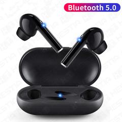 Hot M6s Bluetooth 5.0 Active Noise Reduction Waterproof Earphones Sports Ear  Earphones For Phone black