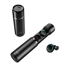 Mifa X1 Wireless TWS Bluetooth 5.0 Dual Headphones 3D Touch Stereo Portable Sports Headphones black