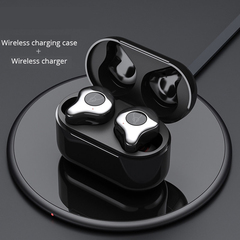 2019 Upgraded X12 Sabbat E12  Earbuds  TWS Bluetooth Earphone Sports  Waterproof Wireless Charging silver