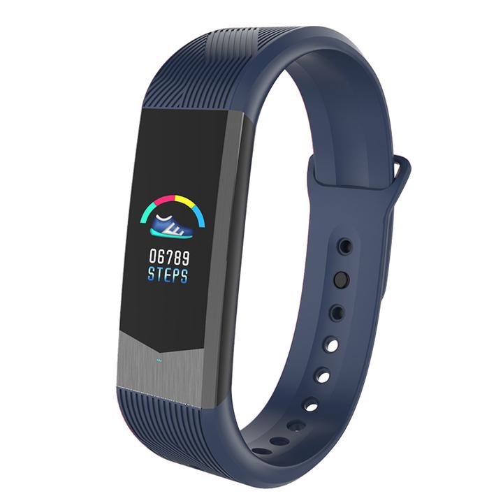 "B30 0.96"" ColorScreen IP67 Waterproof Smart Watch Heart Rate Monitor Blood pressure monitor Bracelet blue B30"