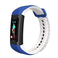 B31 bluetooth medical health monitoring smart sports bracelet blue B31