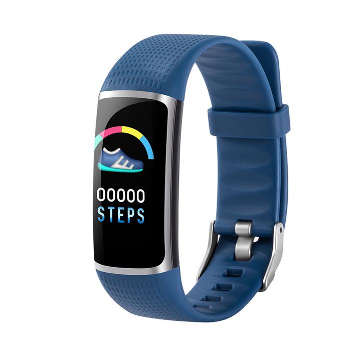 "B32 0.96"" ColorScreen IP67 Waterproof Smart Watch Heart Rate Monitor Blood pressure monitor Bracelet blue B32"