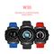 W30 Fashion smart ecg monitoring bluetooth watch RED-A Style W30