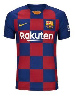 Barcelona FC Football jersey Home Kit Jersey T-shirt Season 2019/2020 Shirt Medium size Size: medium