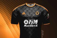 Wolverhampton wolves FC Away football jersey shirt season 19/20 male female girls boys medium size size: medium
