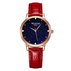 Bright Sky Watch Ladies Women Watch Fashion Waterpoof Watch Student Watch 2019 New Wholesale Watch Red ordinary