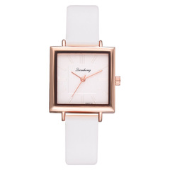 Pack of 2 Hot Selling Simple Casual Women Watch Fashion Ladies PU Quartz Watch 2019 New Wholesale a*2 ordinary