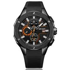 MEGIR Brand 2019 New Sport Watch Fashion Men's Watch Waterproof Quartz Wrist Watch a one size