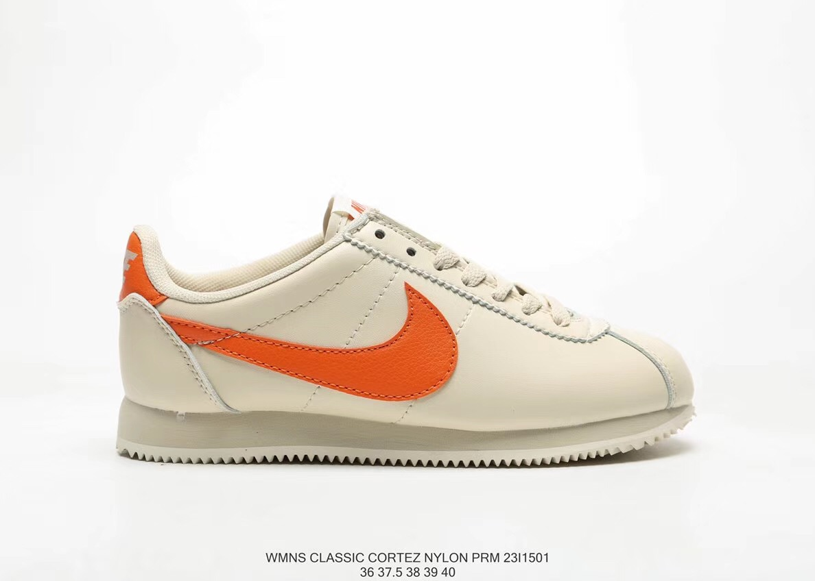 c449266207e9 Nike Classic Cortez Nylon 23I1501 Nike akan all-leather Classic running  shoes