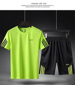 Rhodos Fashion-Men's sports suits,  T shirt and pants white l
