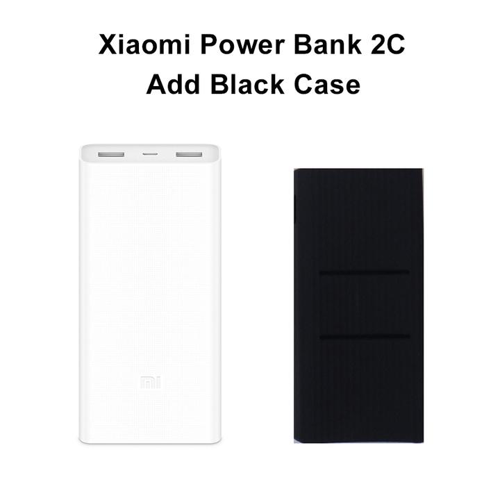 2019 NEW Xiaomi Mi 20000mAh Power Bank 3 / 2C USB-C 45W Portable Charger Dual USB black 20000mah