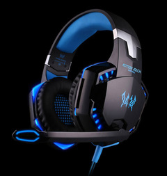 AUTHENTIC KOTION EACH PRO GAMING HEADSET - Blue-Led lights