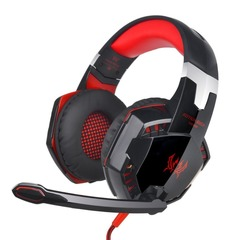 AUTHENTIC KOTION EACH PRO GAMING HEADSET - RED-Led lights