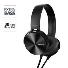 MDR-XB450 Headphones - Black normal