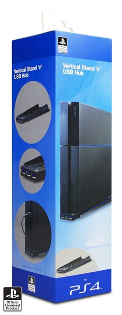 PS4 A. Vertical Stand & USB Hub one color one size