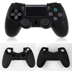 PS4 A. Nude Silicone Controller Cover - Black one color one size