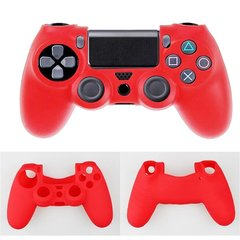 PS4 A. Nude Silicone Controller Cover - Red one color one size
