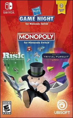 Switch G. Hasbro Game Night (Monopoly, Risk & Trivial Pursuit) normal