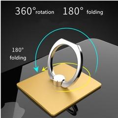 Gift Universal 360 Degree Rotating Finger Ring Phone Stand Holder for All Cell Mobile random normal