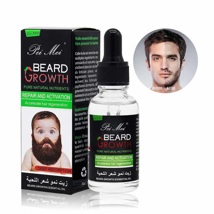 Beard Growth Essential oil colourless