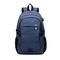 Large USB Charging Male Backpack Bag,15.6 Inch Laptop Notebook Waterproof Back Pack Bag 48*32*18CM Blue 48*32*18(cm)