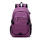 Large USB Charging Male Backpack Bag,15.6 Inch Laptop Notebook Waterproof Back Pack Bag 48*32*18CM Purple 48*32*18(cm)