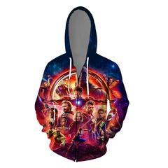The final battle of Avenger Alliance's 4th Guard Clothes Clothes Guard Cap 3D Printed Zipper Shirt I s