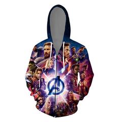 Avengers Endgame Avengers 4 zipper final battle quantum battle suits Dropshipping a s