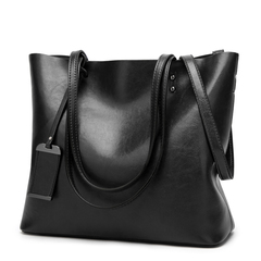 P.H New Large Volume Women's Bag Fashion Handbag Single Shoulder Slant Bag Handbag in 2019 black 36cm*13cm*29cm