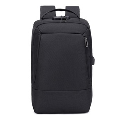 Men 15.6 inch usb charging anti theft business laptop backpack larger multifunction travel bags black 44*29*12cm