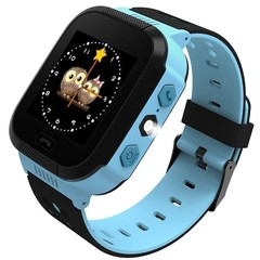 Y21 Kids Activity Tracker Smart Watch Camera Wristband SOS Call for Android blue onesize