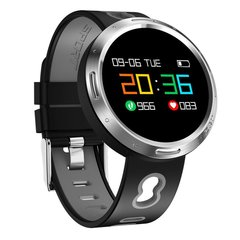 Fashion X9 VO Smart Bracelet  IP68 Waterproof Swim Smartwatch Heart Rate Monitor Pedometer Watch grey onesize
