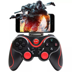 New Game Controller Wireless Bluetooth Android Phone Game Pad Console Black Onesize
