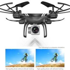 RC High Definition Aerial Phone Control Aircraft Leisure With Camera Quadcopter Mini Drone Black No Camera