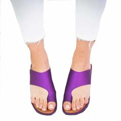 2019 new women's comfy platform sandals summer beach travel shoes fashion sandals comfy women's purple 35