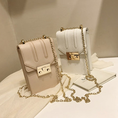 Summer 2019 New Handset Bag Korean version Vertical Simple Single Shoulder Fashion