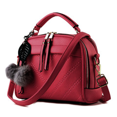 one shoulder and one shoulder inclined bag in Korean version of fresh fragrance fashion red thy only