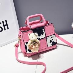 New Bag Handbag Bear Printed Bag Square Bag Setting Lady 1 thy only