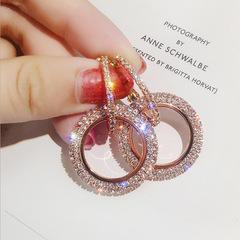 Long Ring Earrings  earings in accessories earings jewellery earrings set  earrings for women Rose Gold only