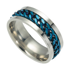 Fashion bracelets for men Ring Can Turnbracelets men blue 6