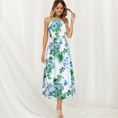 dresses summer ladies dresses fashion women dresses blue ladies dresses sexy V Evening dresses for s white