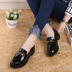 ladies shoes heels red shoes ladies shoes women heelsstyle small  head squarewomen shoe loafer black 35