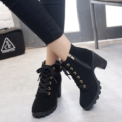 shoes women ladies shoes heels boots ladies shoes boots ladies heels Boots Martin boots women's lace black 35