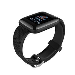 Color screen 116plus smart bracelet D13 bracelet step count sleep monitoring IP67 waterproof USB fitpro-black size: 258mm*34.7mm*11.3mm