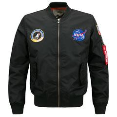 Collar Jacket Men'sWaterproof Men Stand Collar Alphabet Printing Men Coat New Fashion Jacket For men black size m 50 to 58kg