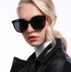 Fashion new polarizer woman classic outdoor driving sunglasses ladies bright sunglasses BLACK