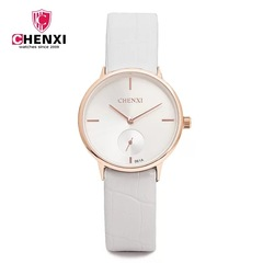 Fashion quartz leather women watch waterproof  luxury stylish classic noble popular beautiful watch white one size